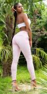 Sexy KouCla Skinny button-fly Jeans
