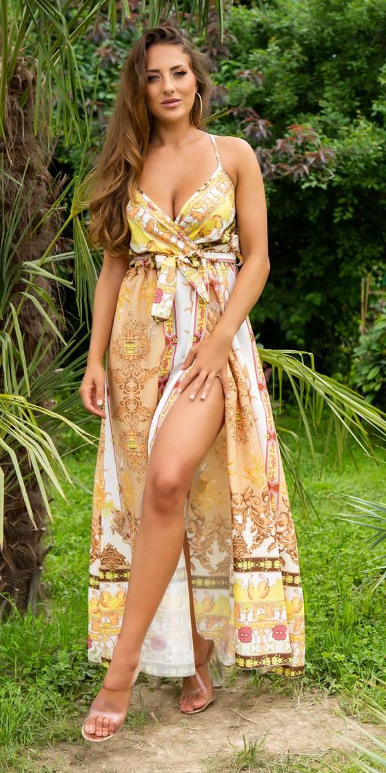 Sexy Luxury Silk-Look Strap...