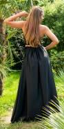 Sexy Satin-Look Maxi Skirt