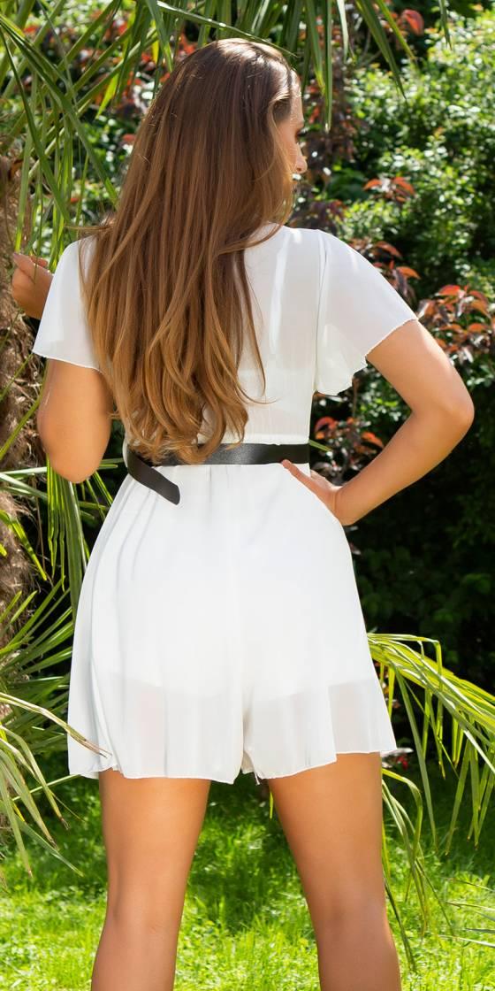 Jupe-short fashion nouvelle collection MARLENE couleur noir