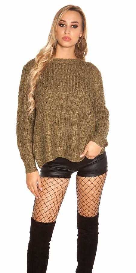 Sexy blazer tendance femme BRITNEY couleur kaki (veste)