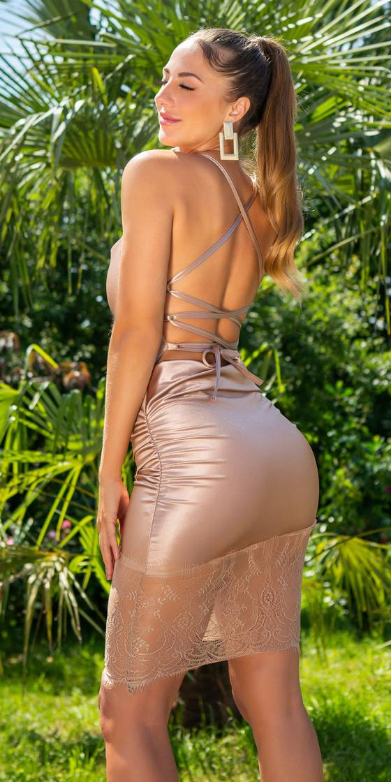 Sexy Koucla Silk Look Dress...