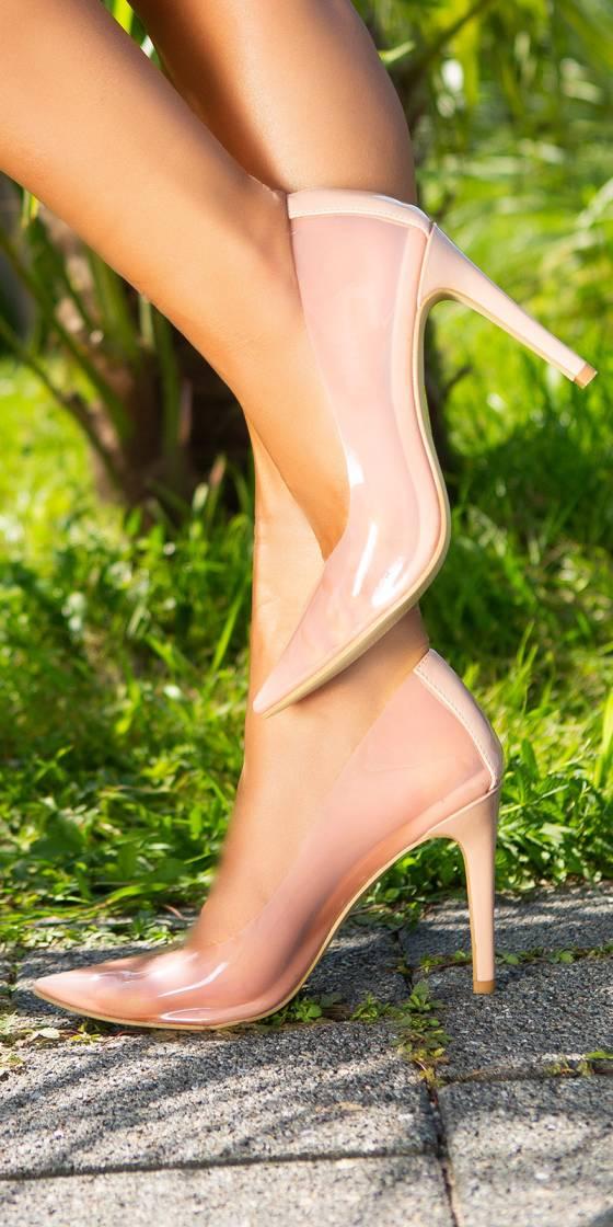 Sexy Transparent Stilettos