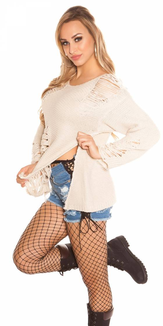 Trendy KouCla chunky knit...