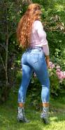 Sexy High Waist Slim Fit Ripped Jeans