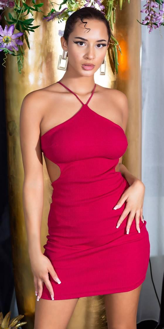 Sexy Backless Strap Dress