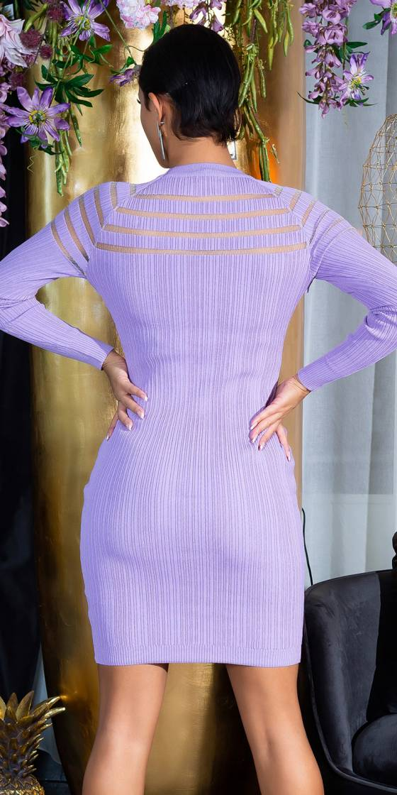 Sexy Knit Dress with...