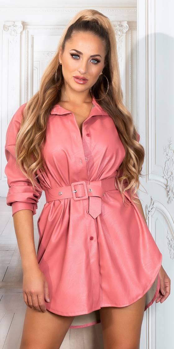 Robe chemise fashion en...