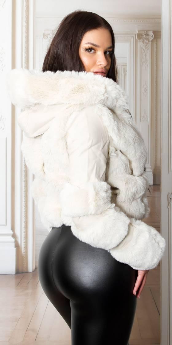 Sexy Short Faux Fur Winter...