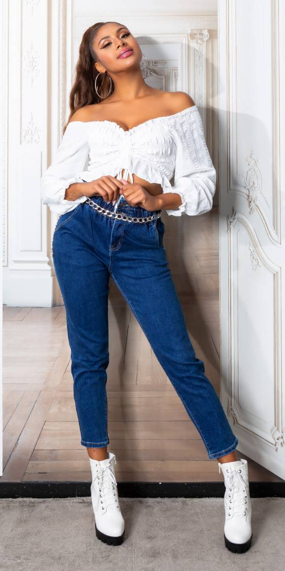 Sexy High Waist Jeans with...