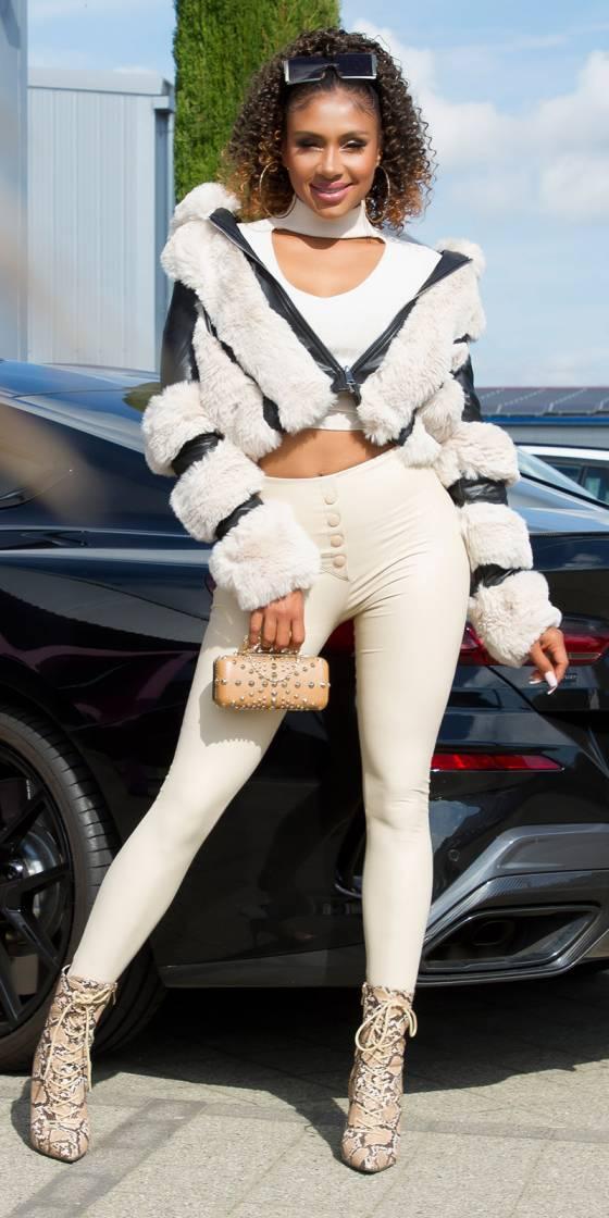Leggings fashion taille...