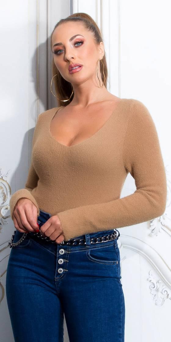 Sexy Cozy V-Neck Sweater