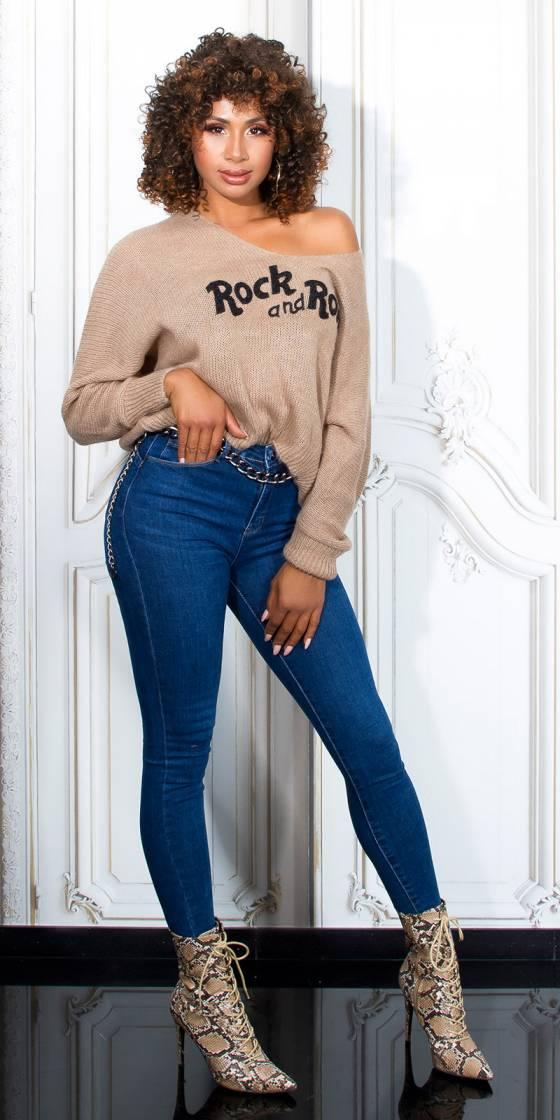Jeans push-up skinny