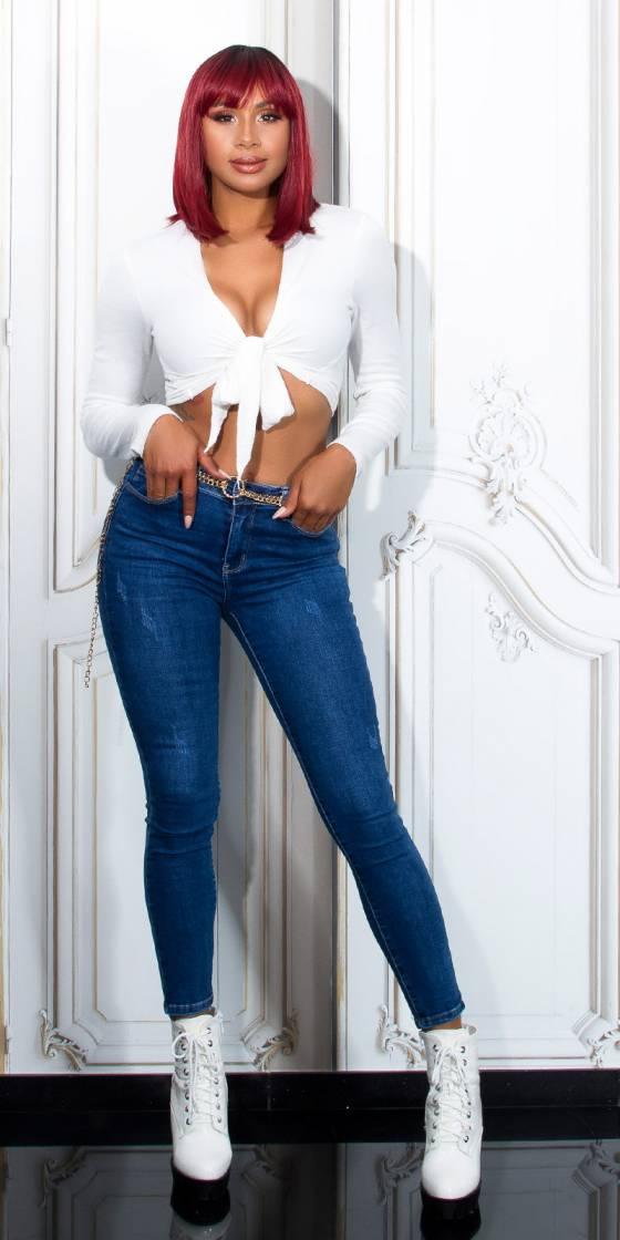 Jeans skinny classique...