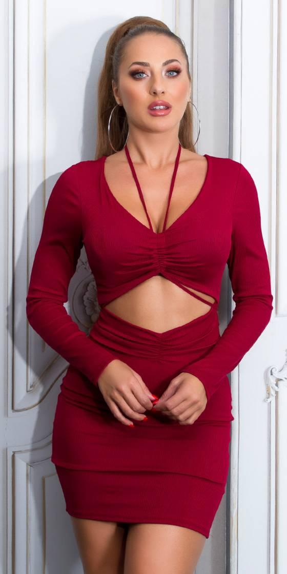 Sexy Bodycon Mini Dress...