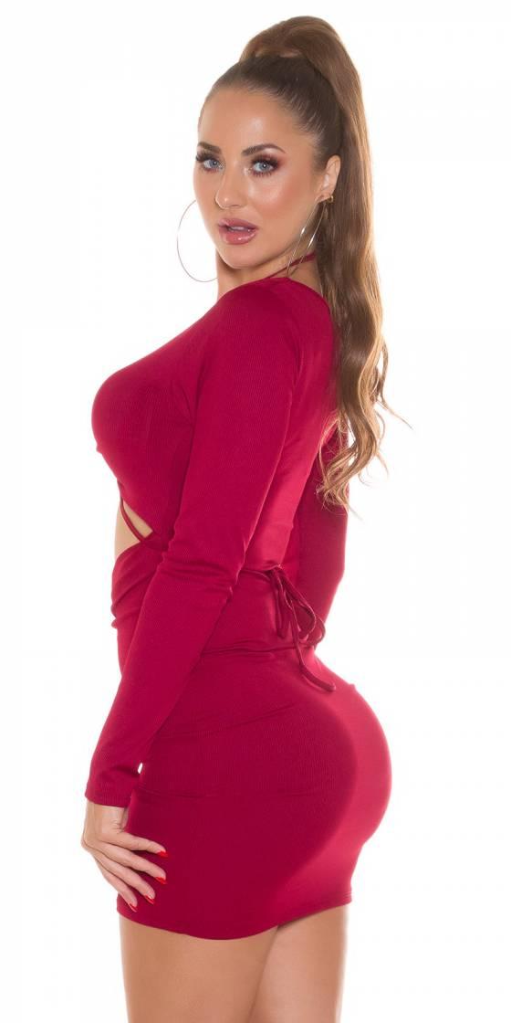 Monokini tendance sexy LYDIA couleur rouge