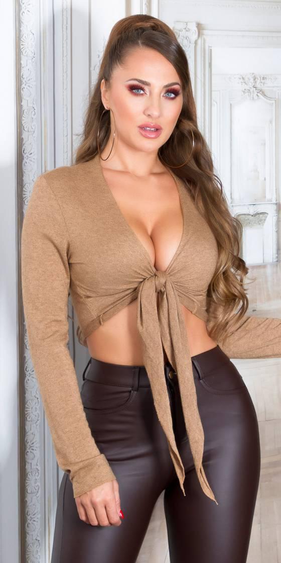 Sexy knitted Bolero jacket...