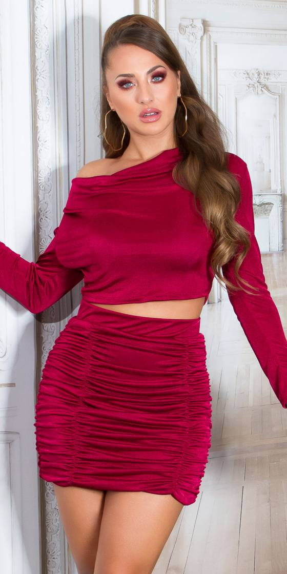 Sexy Mini Skirt Ruffled