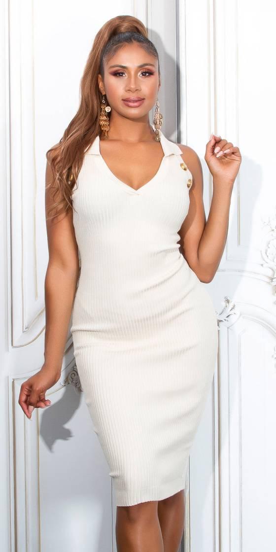 Sexy Ribbed Knit Dress...