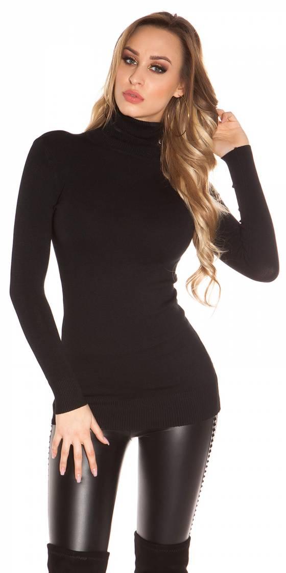 Top fashion ALICE couleur noir