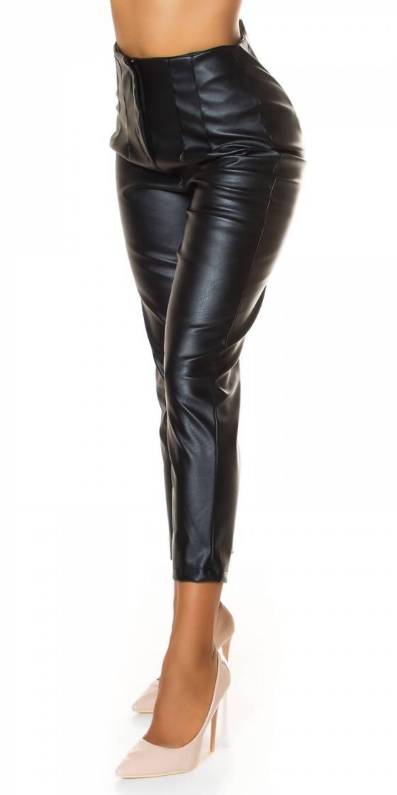 Combishort glamour tendance ELYSEA couleur noir