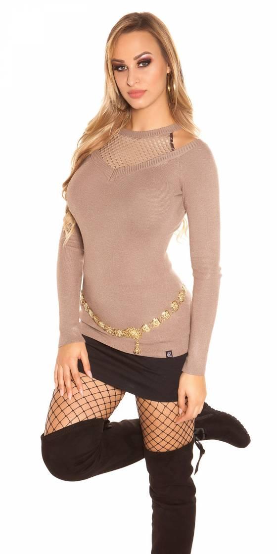 Top tendance fashion LILY couleur corail