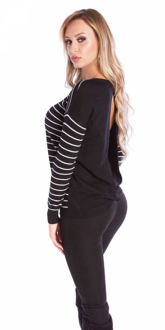 Sexy Koucla pullover backless