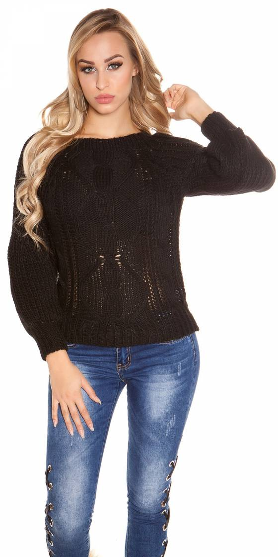 Pull tendance en tricot...