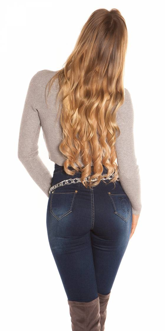 Sexy Rib Crop Pullover with...