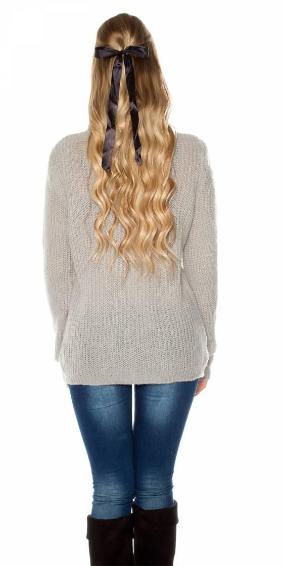 Trendy XL chunky knit...