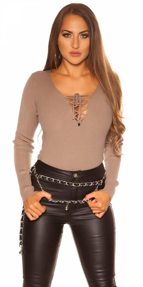 Sexy KouCla V-Cut jumper...