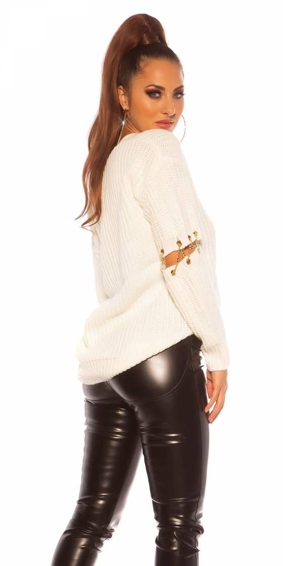 Sexy KouCla V-Cut sweater...
