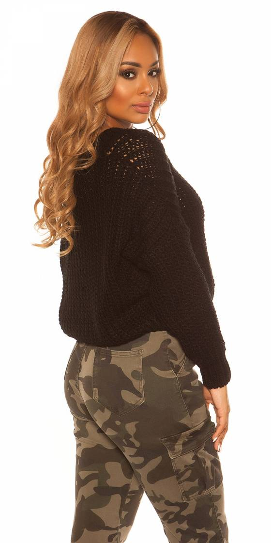 Pull sexy en maille