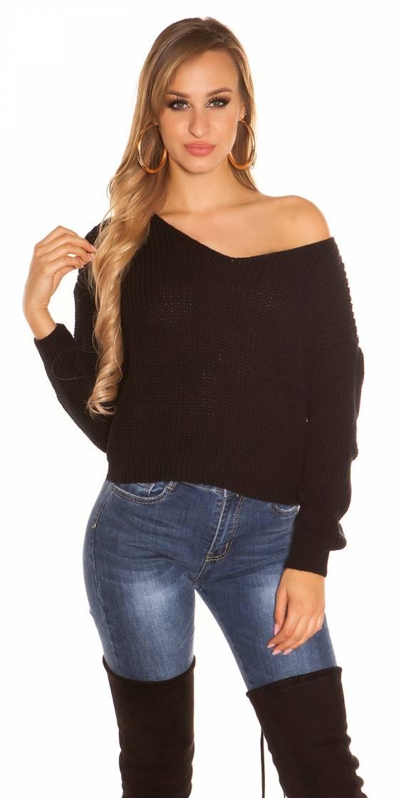Sexy KouCla Knitted jumper...