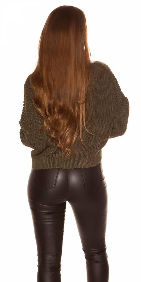 Sexy KouCla V-Cut jumper