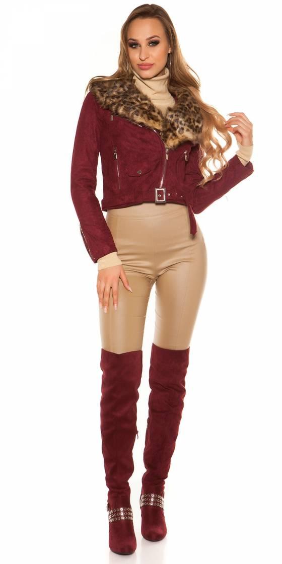 Vêtement femme – Pantalon tendance fashion MAISSA couleur cappuccino