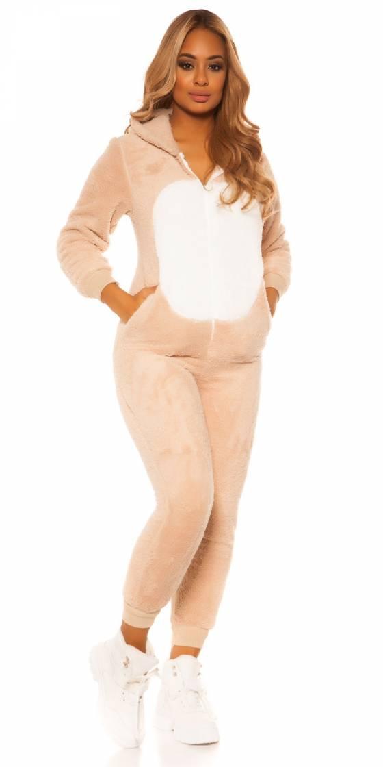 Trendy fluffy unicorn onesie