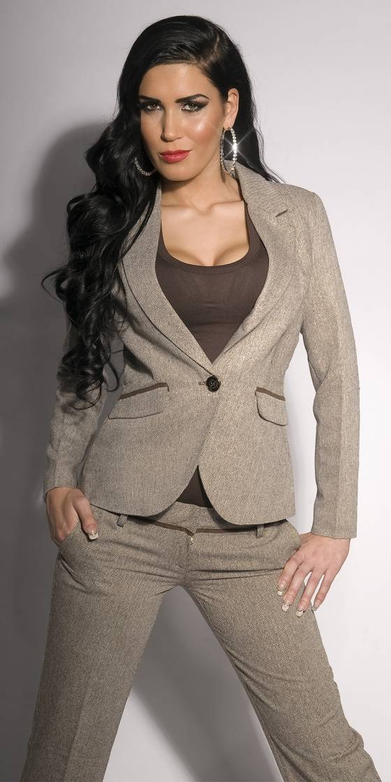 Sexy business blazer with...