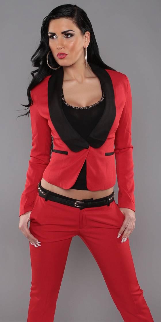Sexy KouCla blazer with button