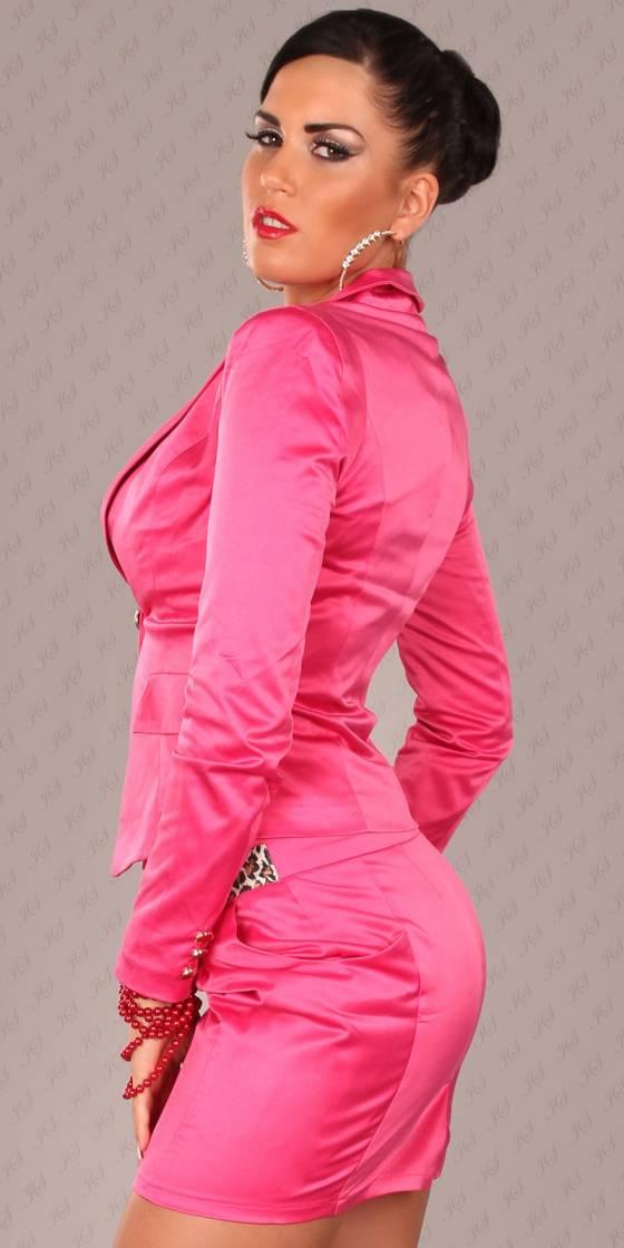 Robe new tendance avec ceinture DONA couleur noir