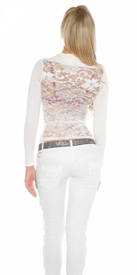 TOP collection TENDANCE FASHION couleur beige