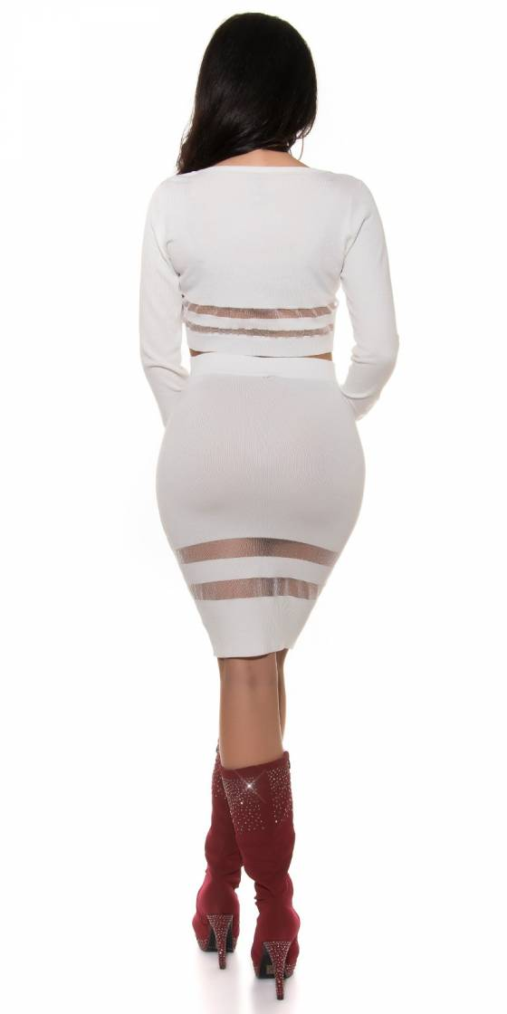 Top femme sexy fashion ALVANA couleur fushia