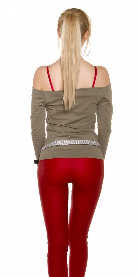 Trendy Basic Shirt Carmen...
