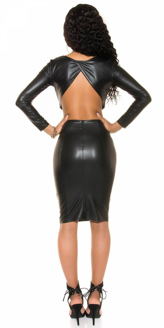Jeggings fashion tendance MAYA couleur noir