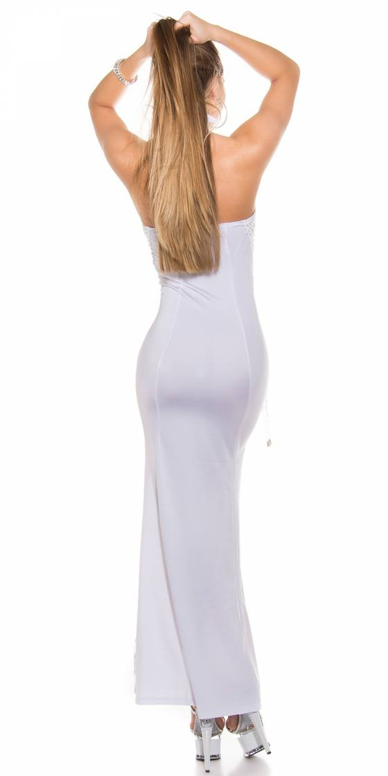 Sexy Neck-dress with...