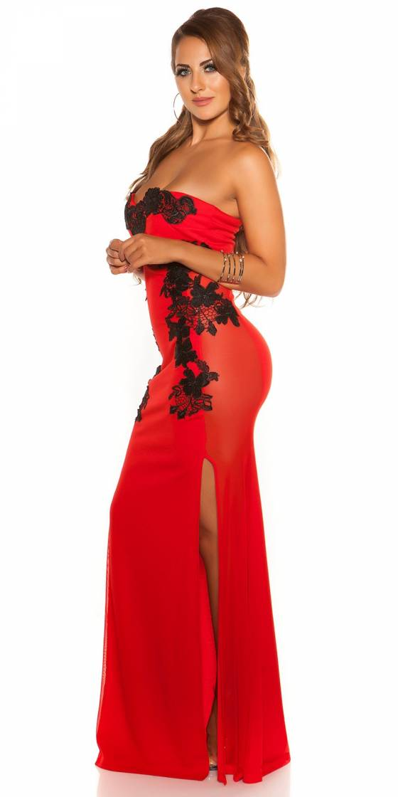Sexy KouCla Long-Dress with...