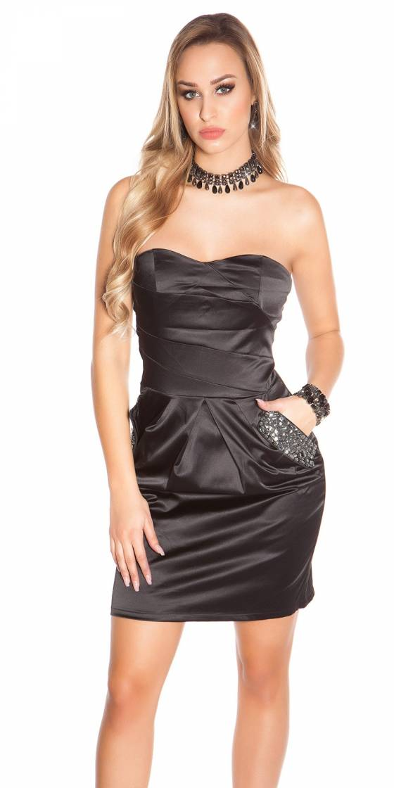 Sexy Bandeau- Party-Dress...