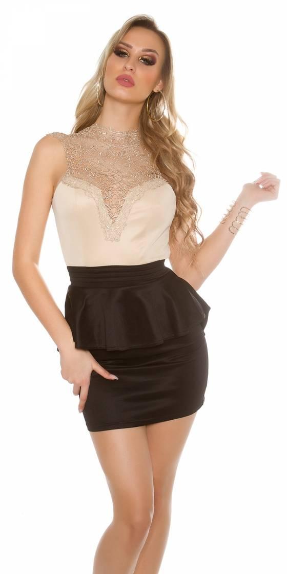 Sexy KouCla minidress with...
