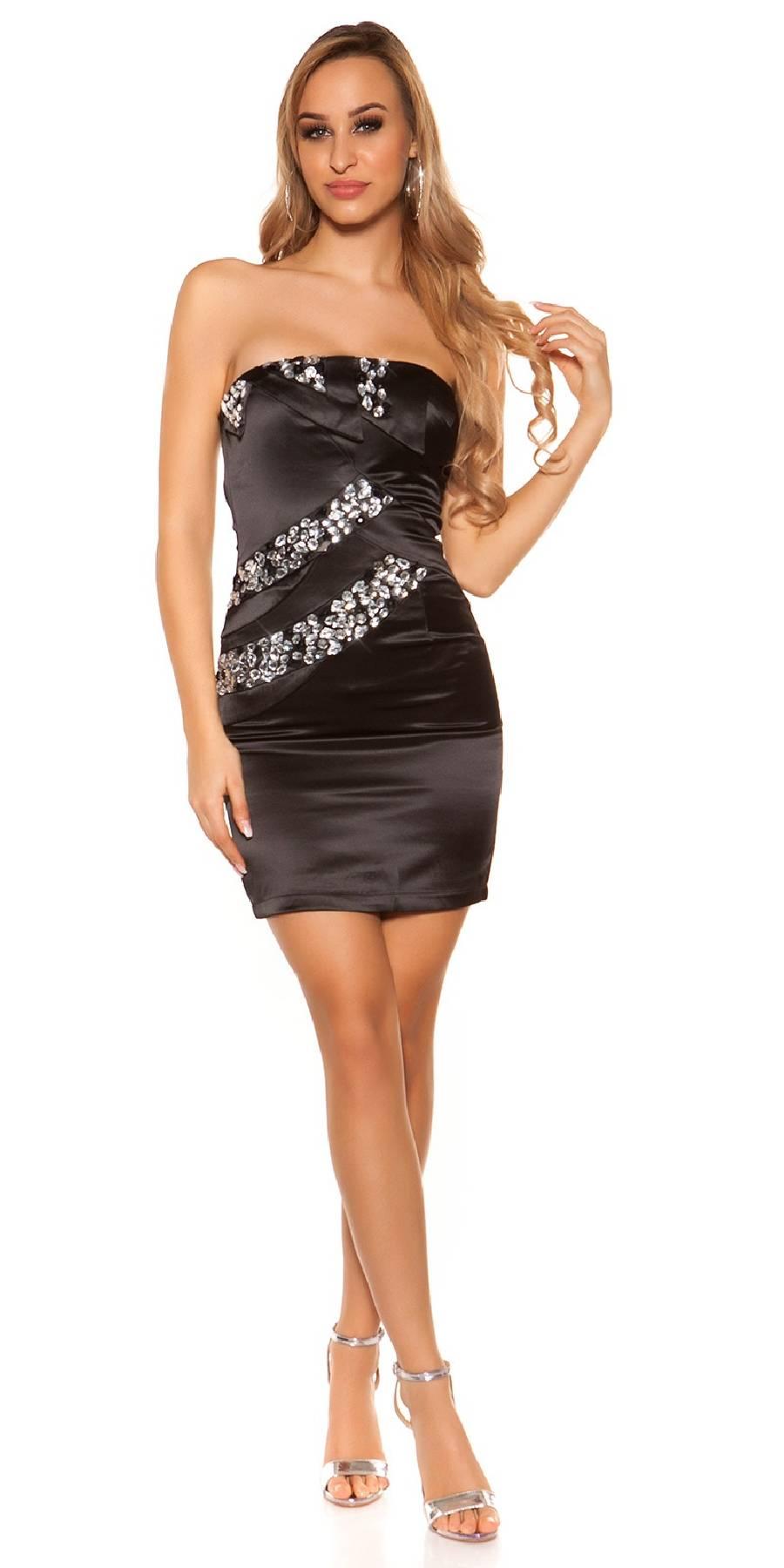 Short tendance KOUKLA couleur noir