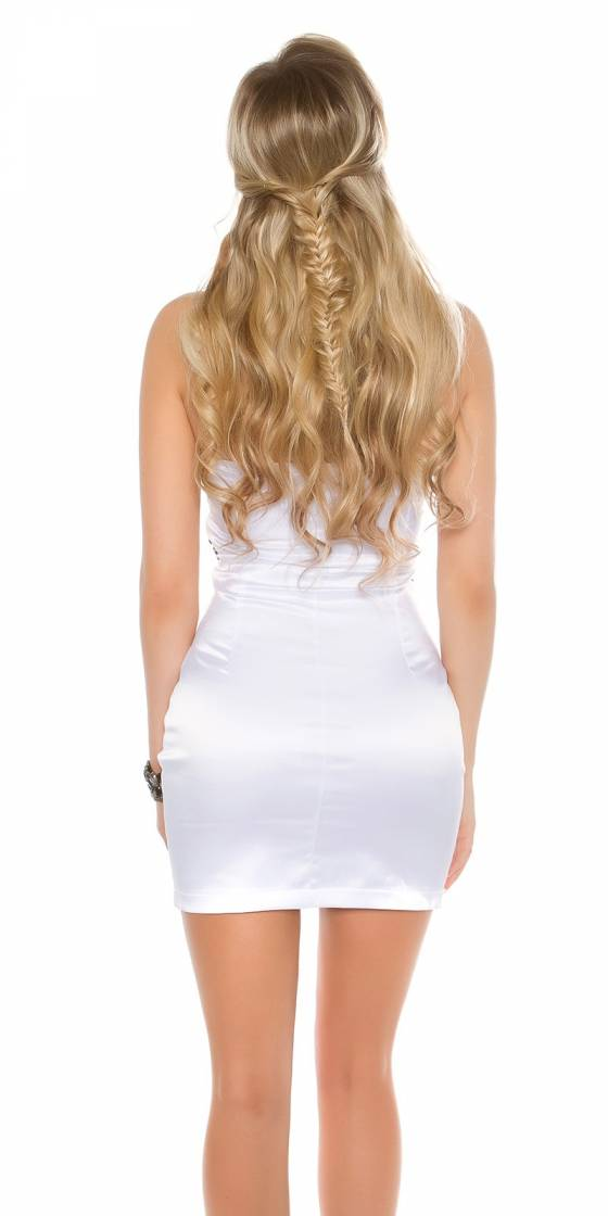Body/top sexy KIMBERLEY couleur blanc